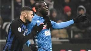 Koulibaly Icardi Inter Napoli