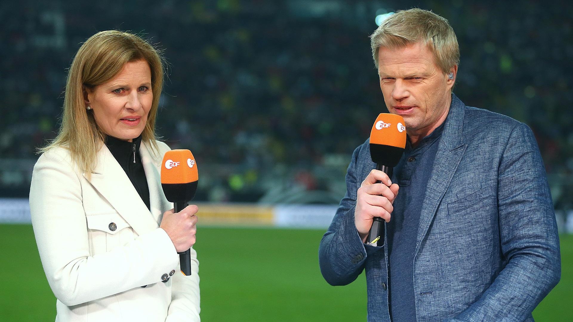 Oliver Kahn Katrin Müller Hohenstein ZDF