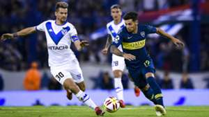 Mauro Zarate Gaston Gimenez Velez Boca Copa Superliga 12052019