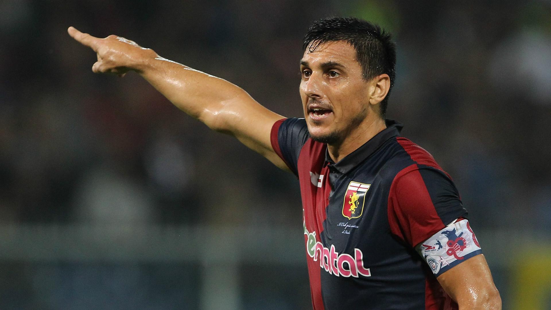 Nicolas Burdisso Genoa Serie A