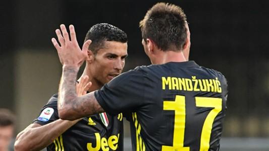 Ronaldo Mandzukic Chievo Juventus
