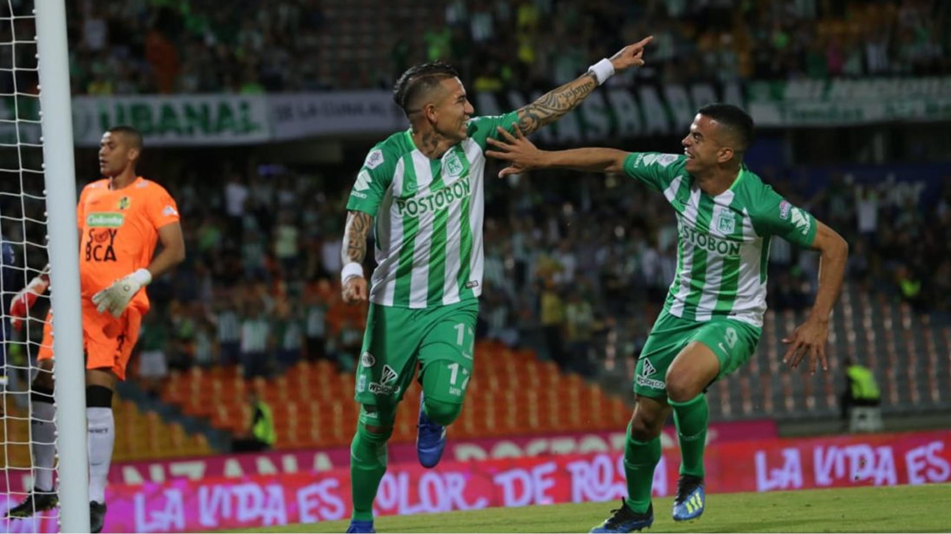 Atlético Nacional Alianza Petrolera Liga Aguila 2018 Dayro Moreno Omar Duarte