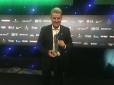 John Gregory; LMA award