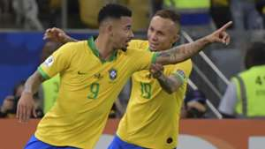 Gabriel Jesus Everton Brazil Peru Copa America 2019