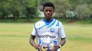 AFC Leopards striker Bonventure Kaheza Marcel.