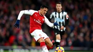 Alexis Sanchez Arsenal Newcastle