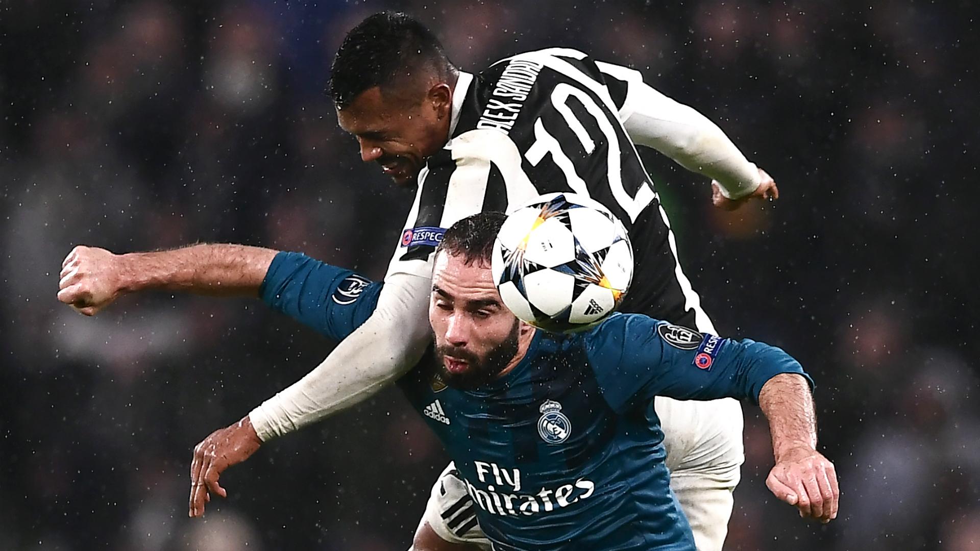 Carvajal Alex Sandro Juventus Real Madrid Champions League