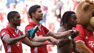 Douglas Costa Xabi Alonso Renato Sanches Bayern Munich