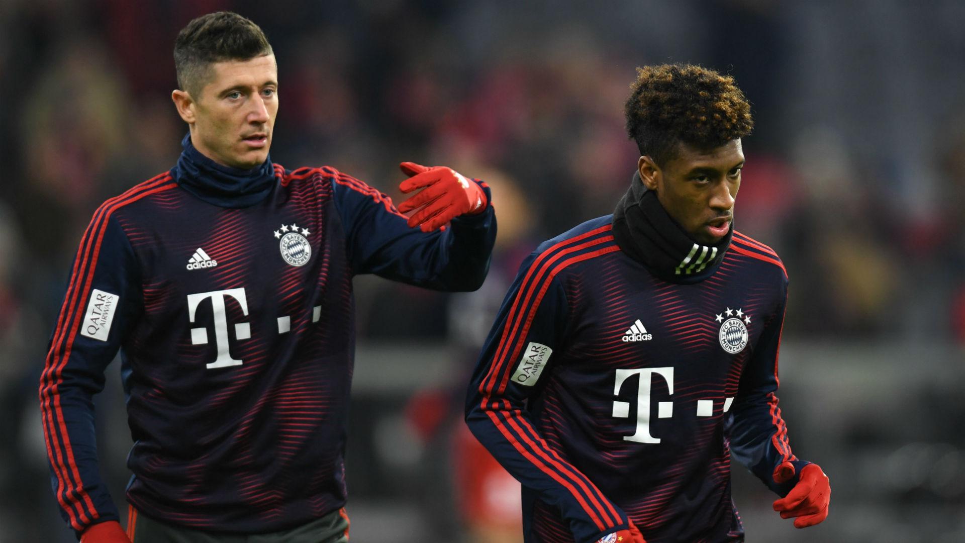Bagarre entre Lewandowski et Coman — Bayern