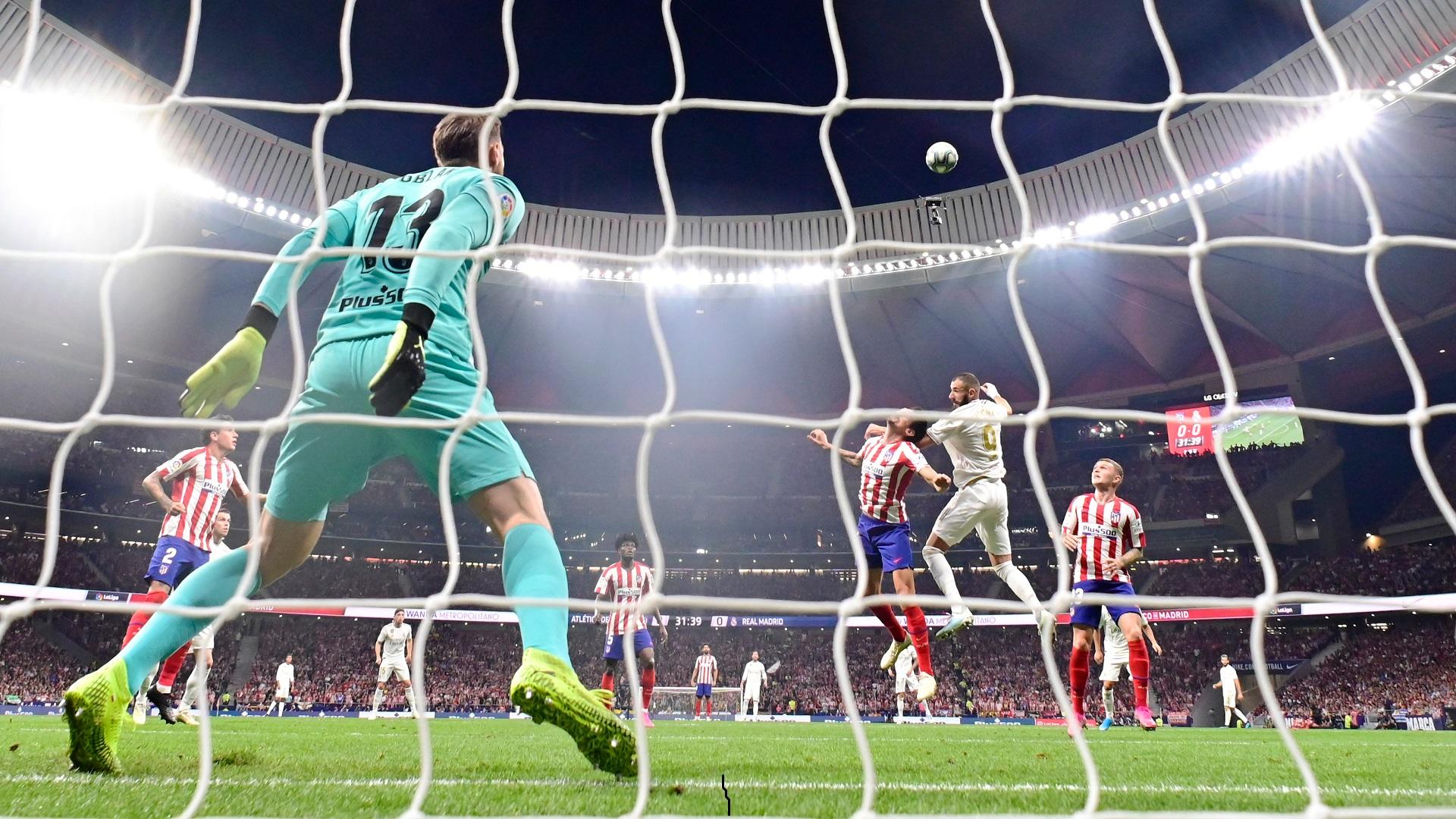 Karim Benzema Atletico Madrid Real Madrid la liga 27092019