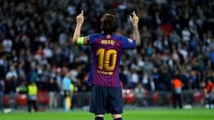 Lionel Messi CL Barca 2018