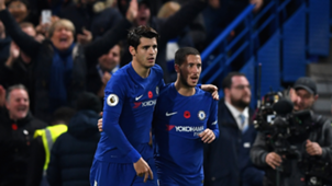 Alvaro Morata & Eden Hazard