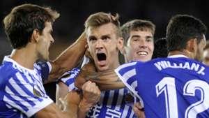 Diego Llorente Real Sociedad Rosenborg UEFA Europa League