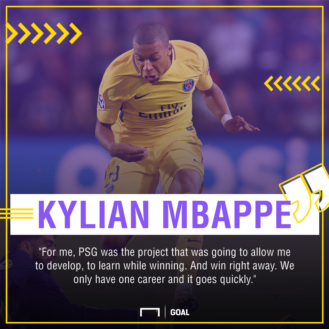 Mbappé quote