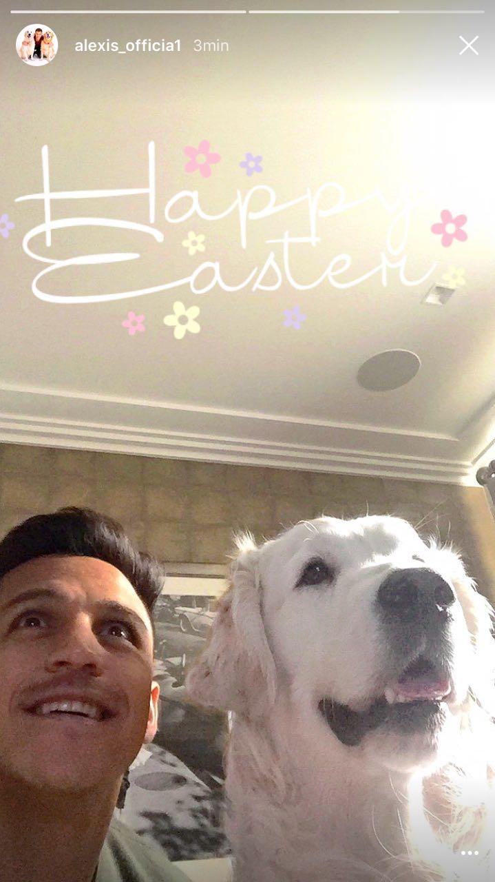 Alexis Sanchez Pascua Easter