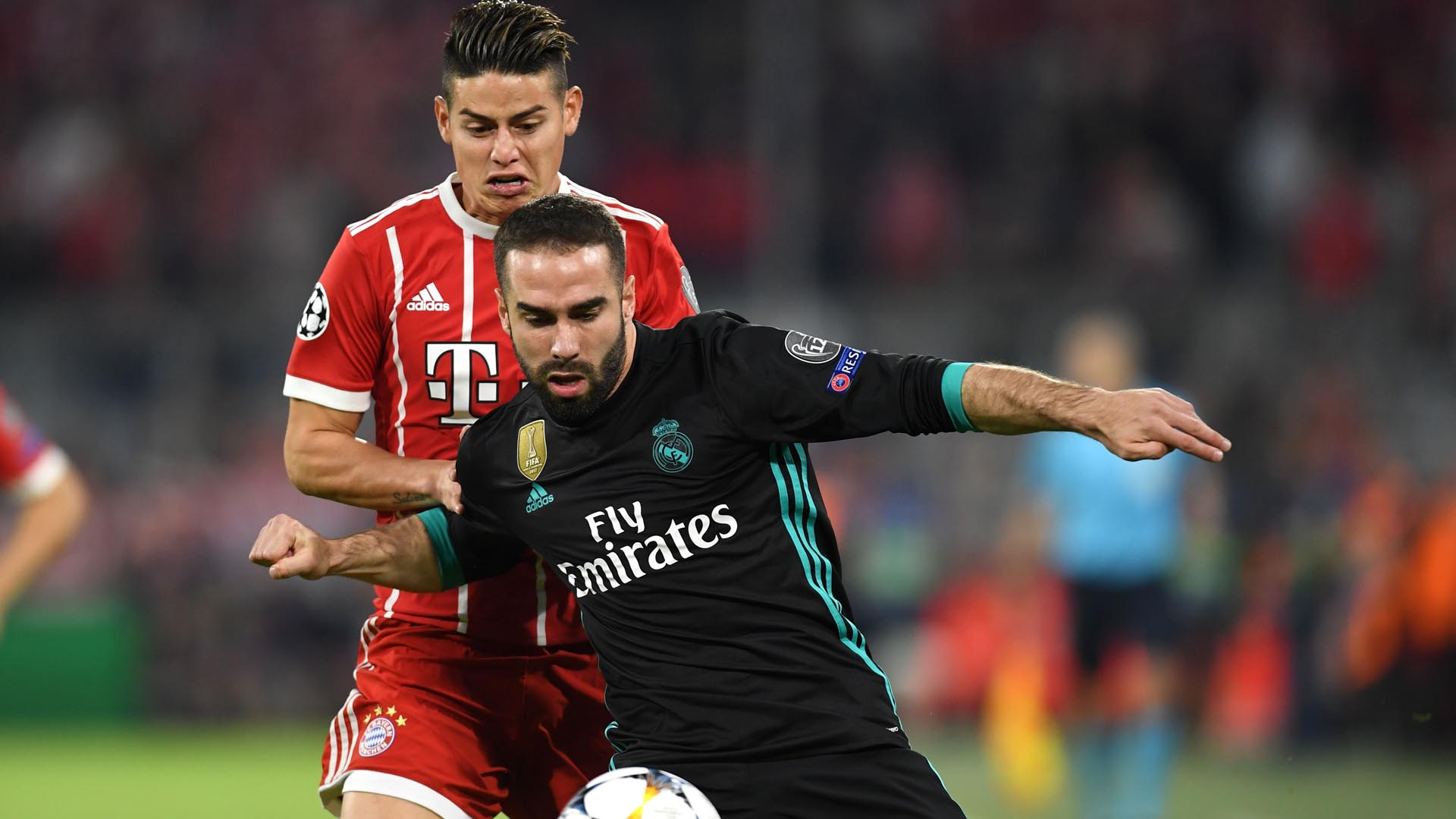 Bayern Munich Real Madrid James Carvajal Champions League 250418