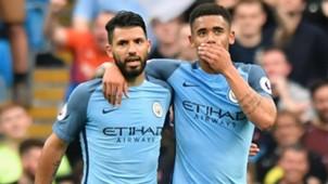 Gabriel Jesus Sergio Aguero Manchester City 16052017