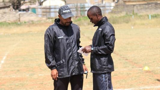 Mathare United physiotherapist Stephen Kome