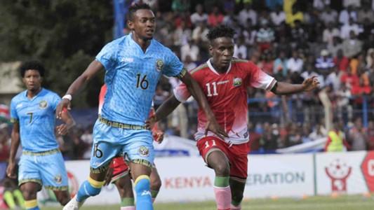 Mwinyi Haji of Zanzibar v Dennis Shikhayi of Kenya.