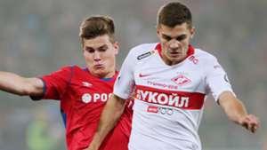 Jaka Bijol Roman Zobnin CSKA Moscow Spartak Moscow