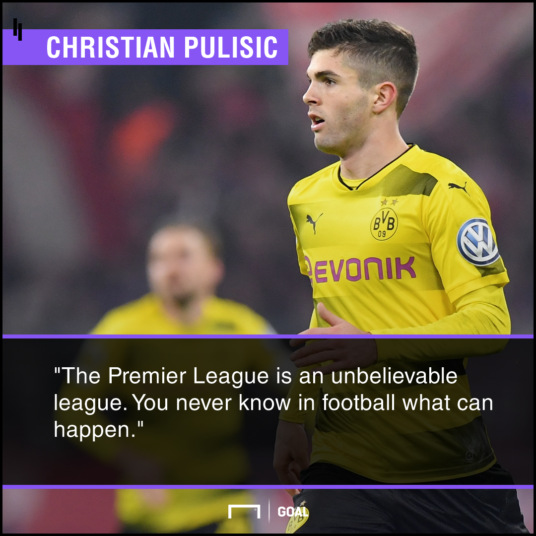 Christian Pulisic Premier League move