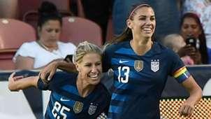 McCall Zerboni Alex Morgan U.S. women's national team 2018