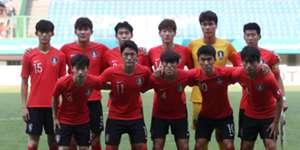 Korea's Asian games team