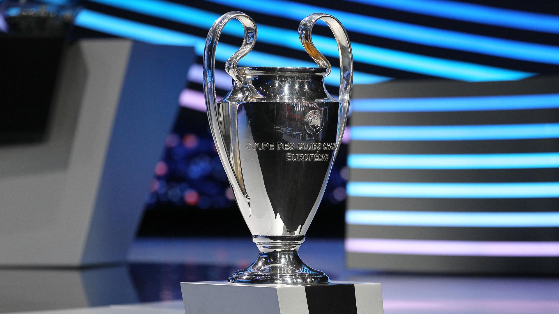 UEFA Champions League Trophäe 2012