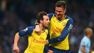 Cazorla Giroud Man City Arsenal 18012015