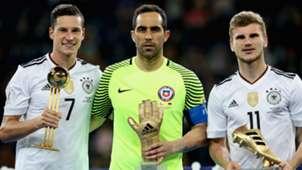 Julian Draxler Claudio Bravo Timo Werner Chile Germany Confederations Cup 07022017