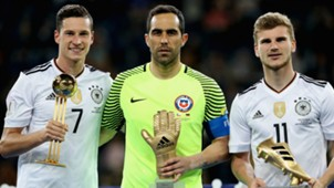 Julian Draxler Claudio Bravo Timo Werner Chile Germany Confederations Cup 07022017