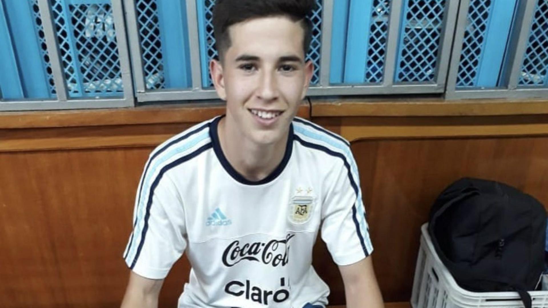Owen Blanco Argentina Sub 17