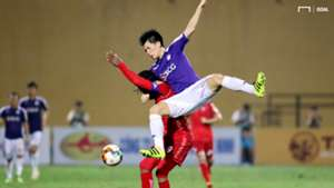 Andre Fagan Tran Dinh Trong Ha Noi vs Hai Phong V.League 2019