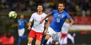Leonardo Bonucci Italy Poland UEFA National League