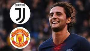 Adrien Rabiot PSG Juventus Man Utd