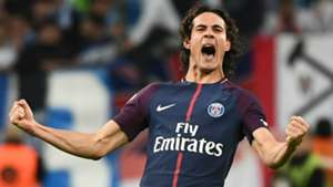 Edinson Cavani Marseille PSG Ligue 1 22102017