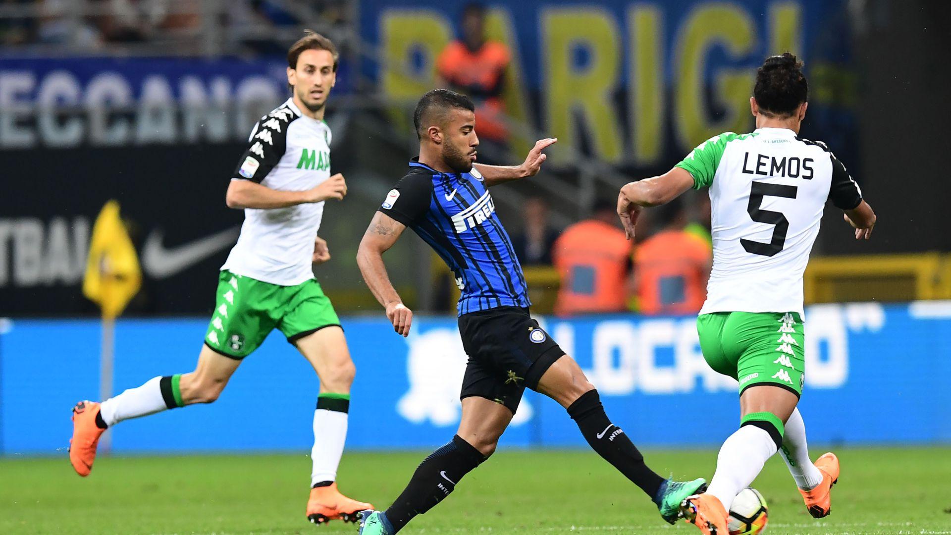 Rafinha Inter Sassuolo Serie A