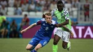 Nigeria vs. Iceland - Oghenekaro Etebo