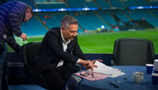Gary Lineker goes over his lines