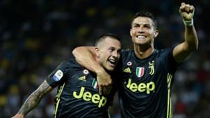 Federico Bernardeschi Cristiano Ronaldo Frosinone Juventus