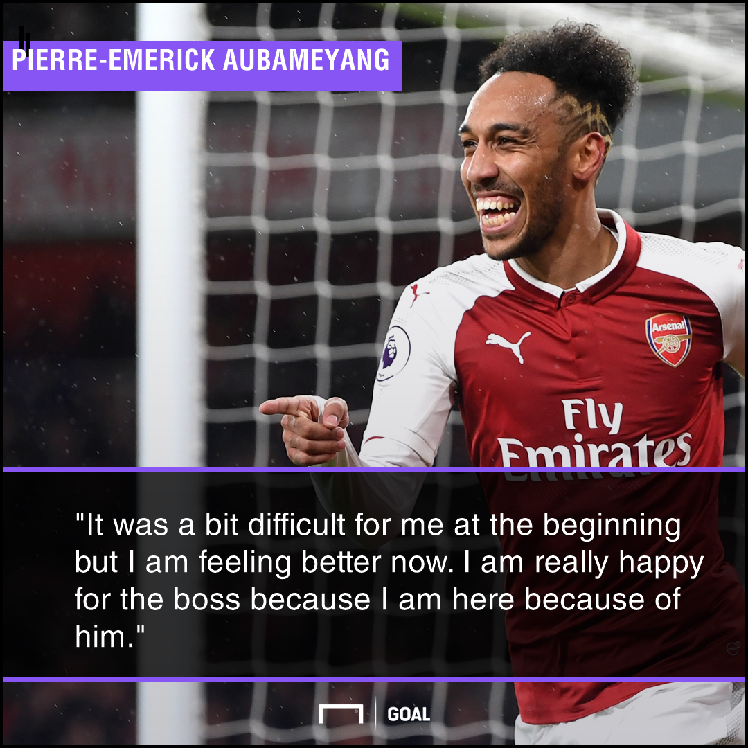 Pierre-Emerick Aubameyang reveals why he's disappointed at Arsenal after January switch