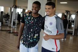 Thiago Silva e Marlon Fluminense 01/07/17
