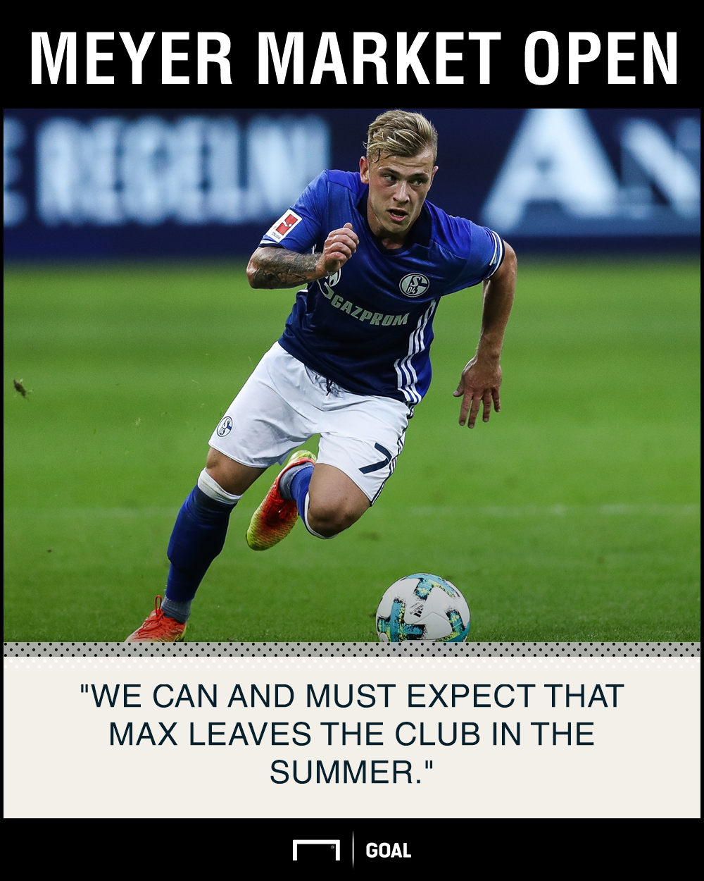 Max Meyer Schalke expect exit