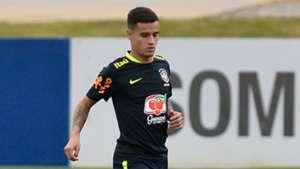Coutinho treino Seleção Brasil 03 10 2017