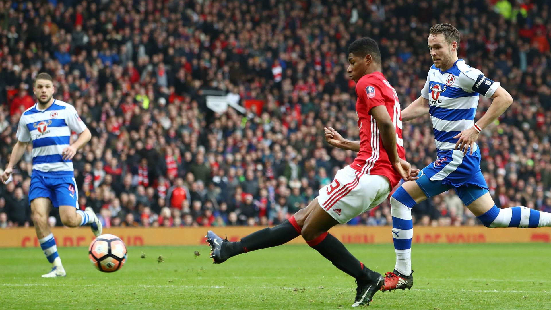 Marcus Rashford Manchester United FA Cup