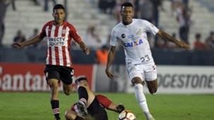 Arthur Gomes e Rodrygo - Santos x Estudiantes - 5/04/2018
