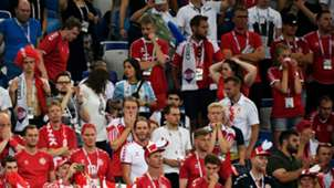 Fans Denmark Croatia World Cup 01072018