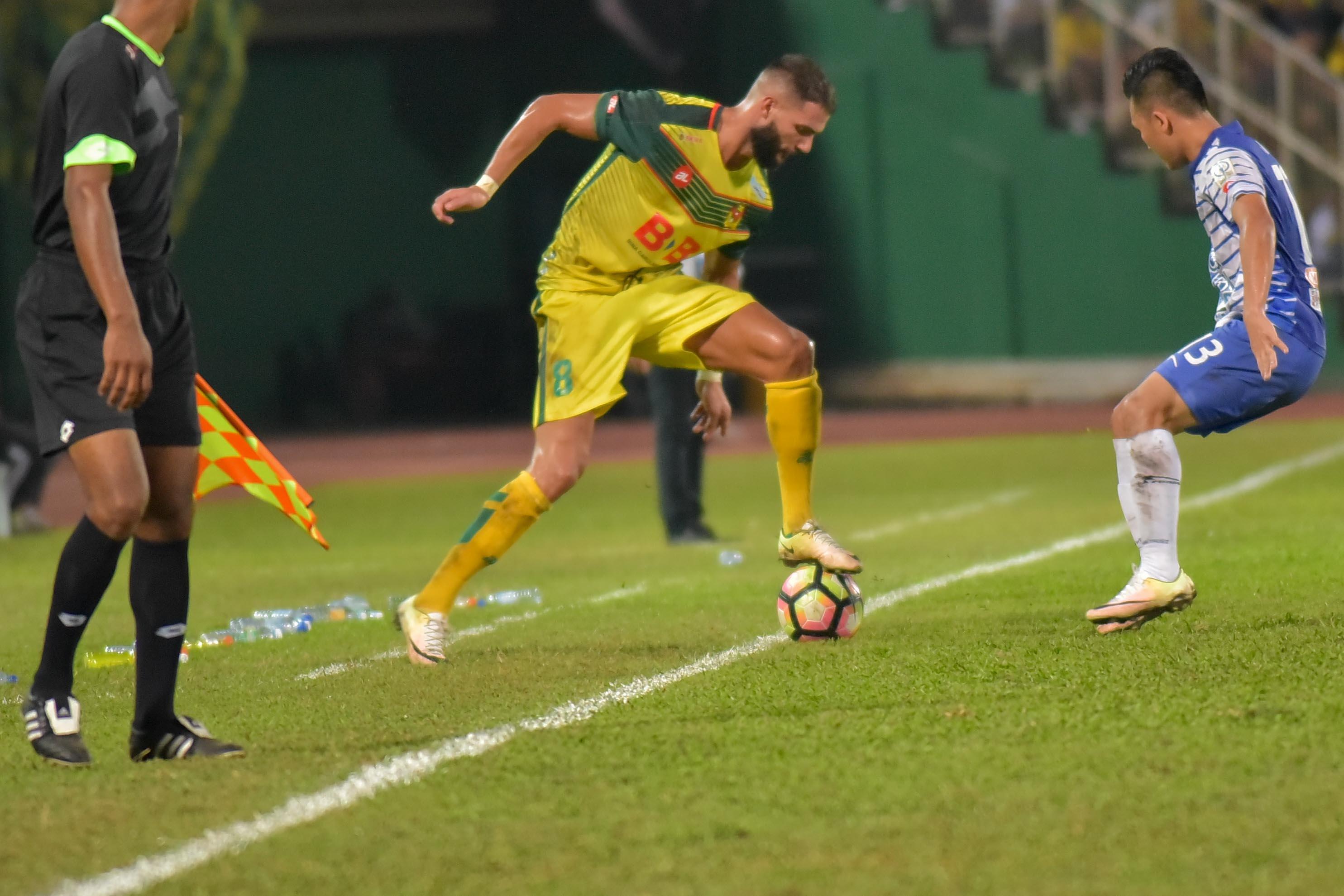 Liridon Krasniqi Kedah Malaysia Super League 04032017