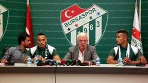 Cristian Chagas Tarouco Titi Ali Ay William Troost Ekong Bursaspor