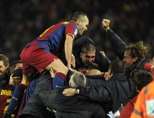 Iniesta Barcelona 5-0 Real Madrid